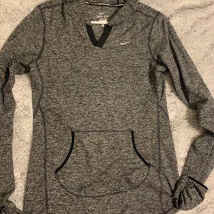 Nike drift sweater with hoodie